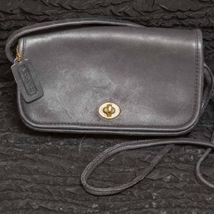 Authentic Coach Handbag Bag Over Shoulder Leather